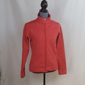 lucy orange full zip track sweatshirt, szM
